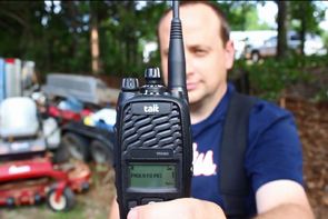 Tait 9400 terminals are some of the toughest professional radios in the market.