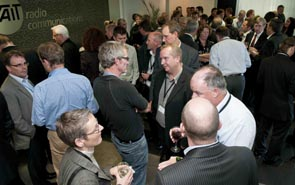 Attendees at the 2011 NZ Hi-Tech Awards Entrants Event hosted at Tait's Christchurch facilities.