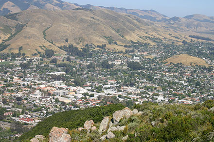 City of San Luis Obispo, CA, USA