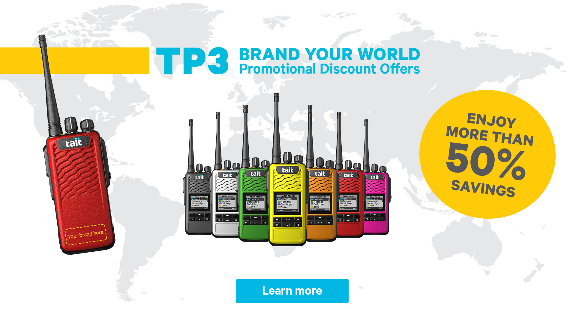 Brand Your World with TP3