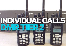 DMR Tier 2 User Features - Individual Calls