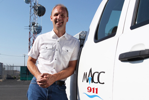 Dean Hane, Emergency Radio Communications Manager for MACC 9-1-1