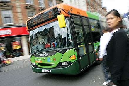 Nottingham City Transport, England