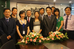 Tait Radio Communications staff at the newly opened facility in Beijing.